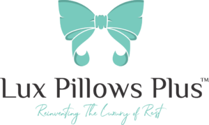 LUX logo Luxury self-care pillowcases