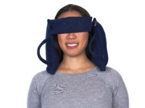 USB heated with satin eye mask